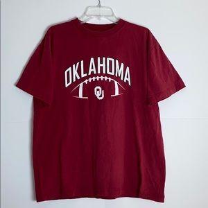 Men Oklahoma University Shirt/ Size:L